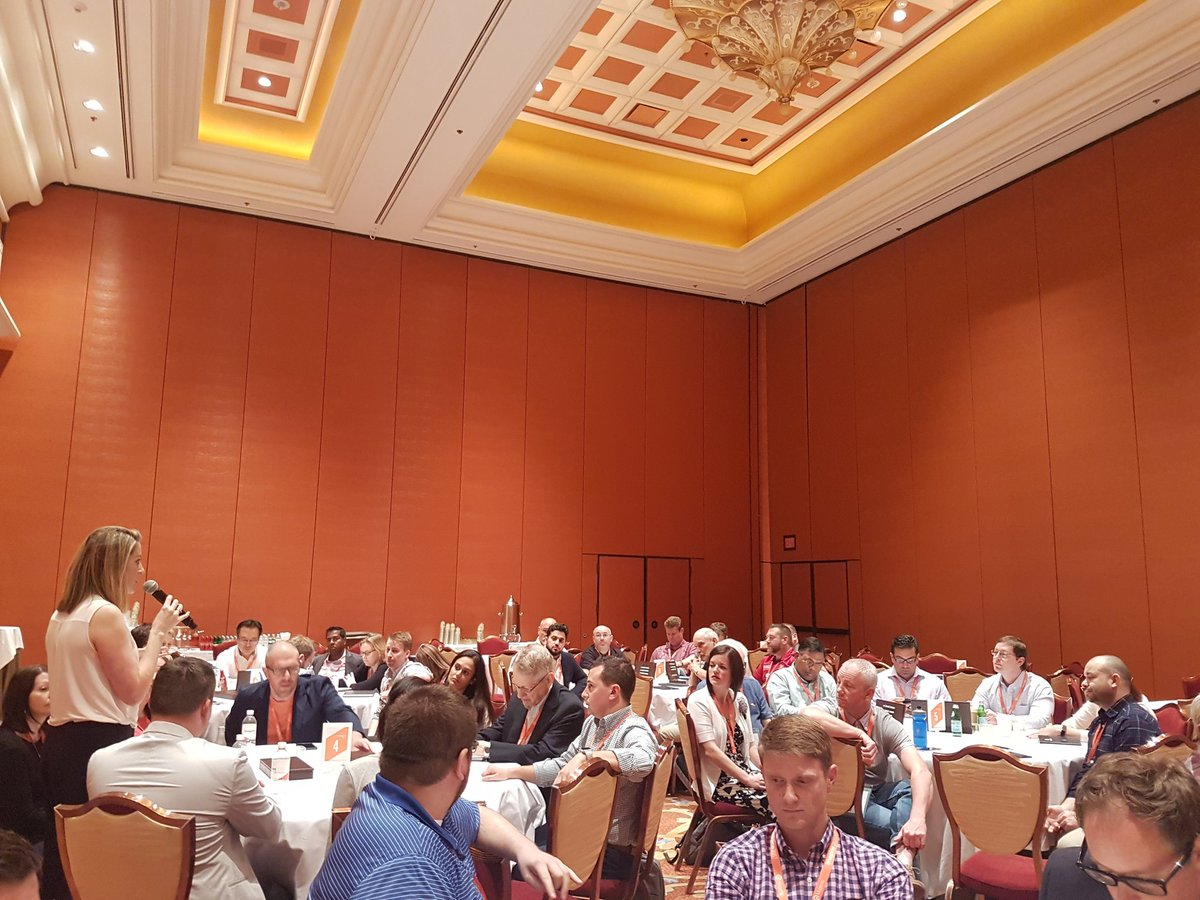 sandermangel: Enjoying the table discussions at the Merchant to Merchant session #Magentoimagine https://t.co/UbHf4XYw8E