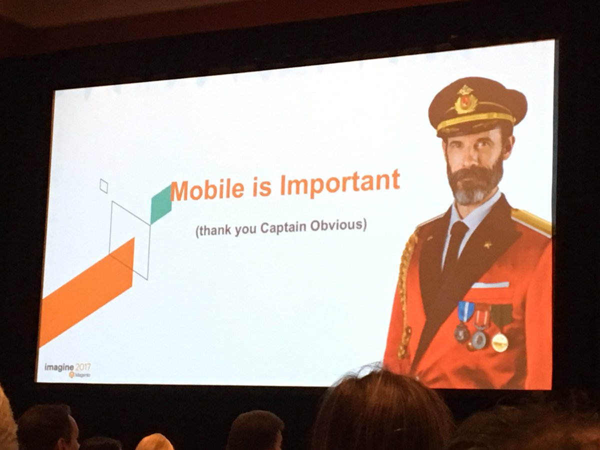 SheroDesigns: Mobile is important !!! Thank you captain obvious 😜 !#Magentoimagine https://t.co/gNM4TQd6Y6