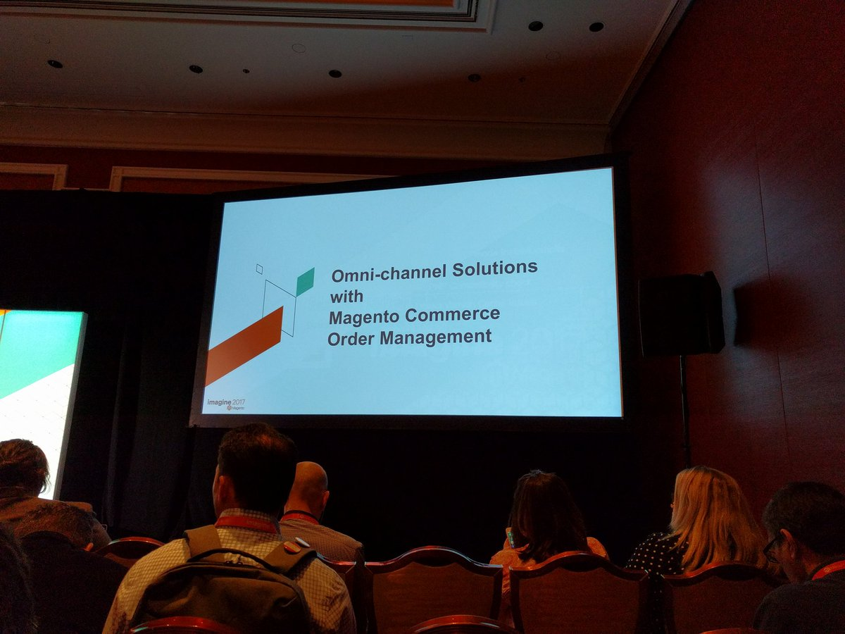 barbanet: The MCOM session at #Magentoimagine https://t.co/LEV64jmP9s