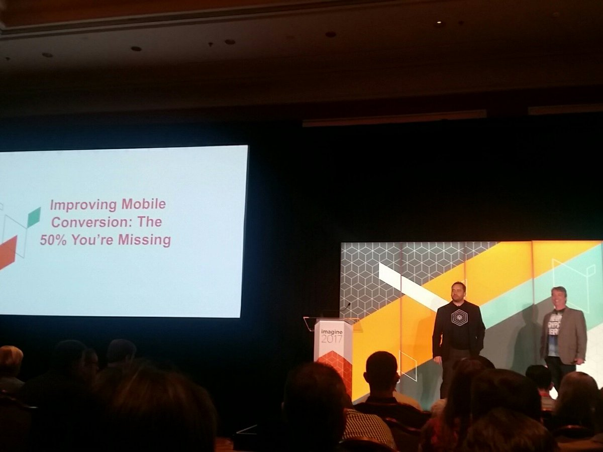 mzeis: Next up: improving mobile conversion #MagentoImagine https://t.co/hBYEWRGZTU