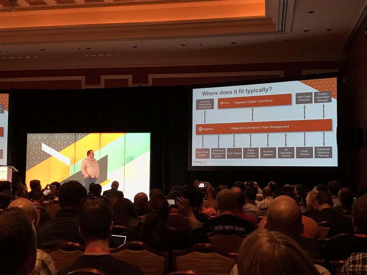 wearejh: Taking a technical deep dive into Magento Commerce Order Management #MagentoImagine https://t.co/ziRO75JnLl