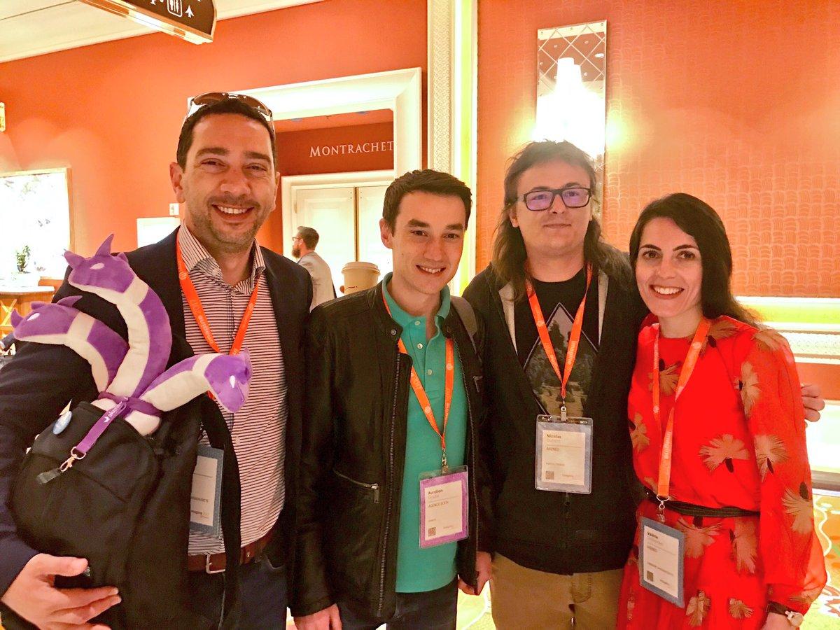 AgenceSOON: Très heureux de rencontrer nos amis de la solution @akeneopim au salon #Magentoimagine #imagine2017 #pimforall https://t.co/KFE63f033N
