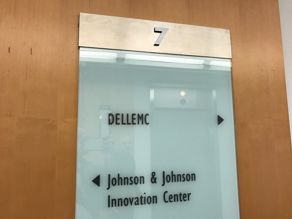 .@dellemc taking over what had been a Samsung Ventures office in Kendall Square #cambMA https://t.co/l3mkajBs4a
