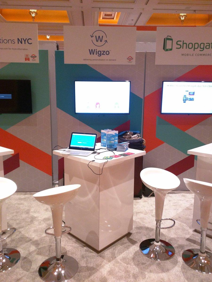 WigzoTech: all set for the demo.. come visit us at booth#4 #Magentoimagine https://t.co/ETI7DA2FCK