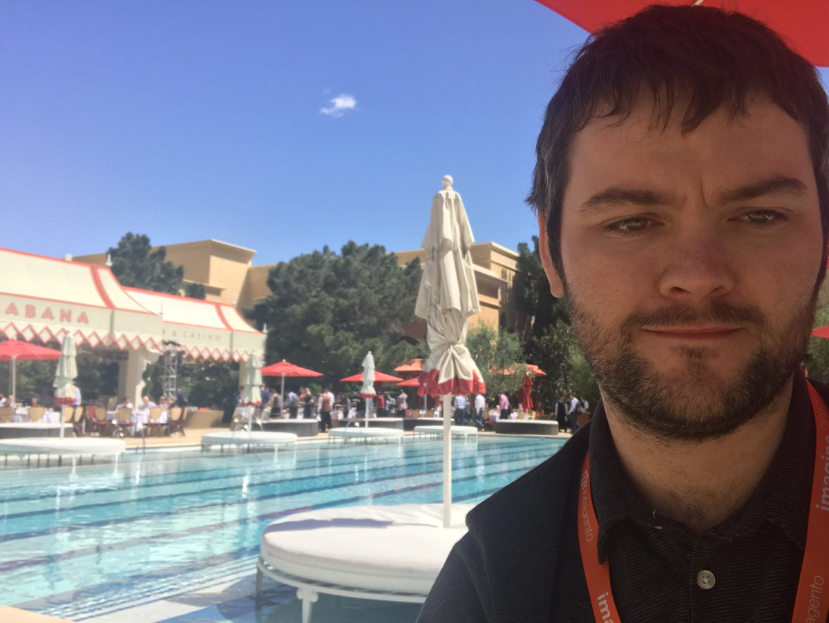 JohnHughes1984: I could get used to having lunch here everyday 😆 #MagentoImagine https://t.co/vBtdSLbuA2
