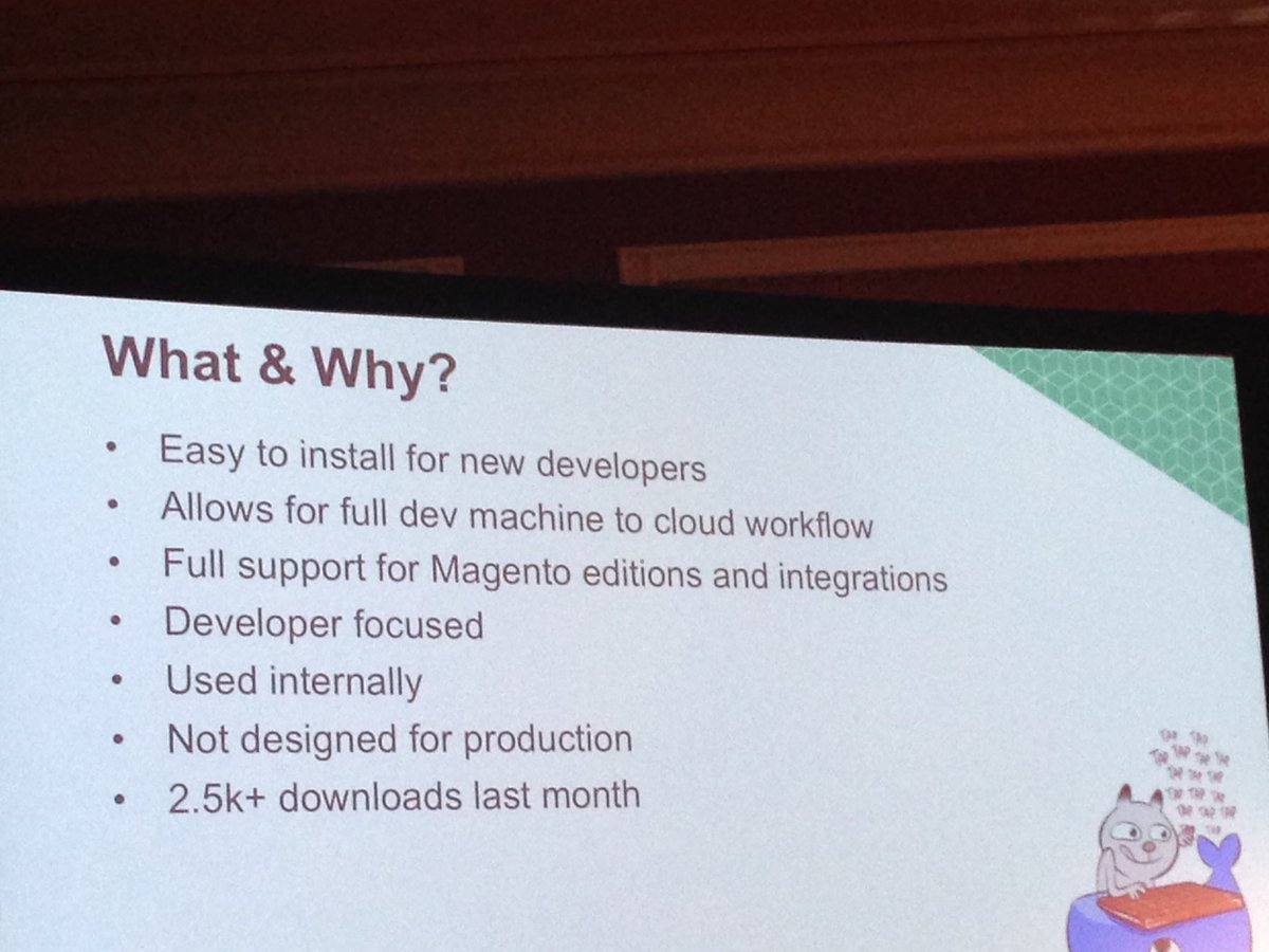 SheroDesigns: New DevBox currently in beta to help new developers to #magento2cloud  #magento #Magentoimagine https://t.co/hbZVBcEYZj
