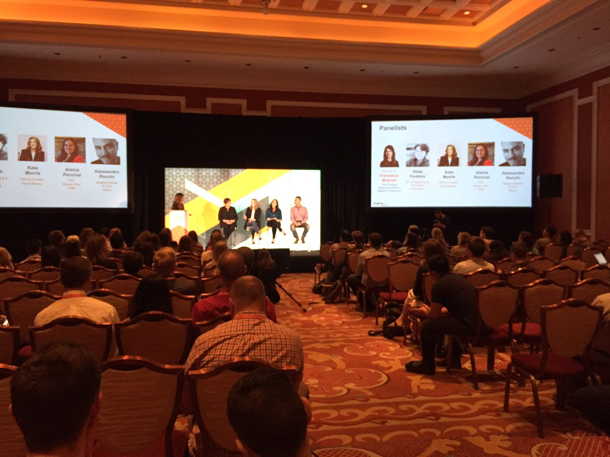 WebShopApps: Come join us at the diversity discussion #Magentoimagine - Margaux 2 https://t.co/SVSWMcXxwu