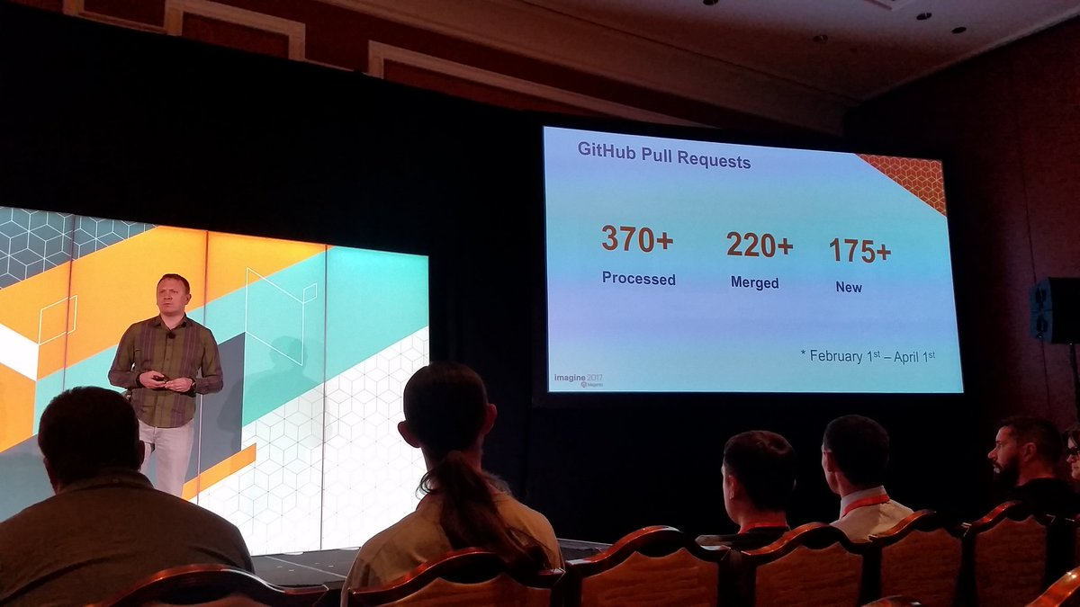 mzeis: Awesome numbers and work from the Community Engineering team! #MagentoImagine https://t.co/EVBdthwFjt