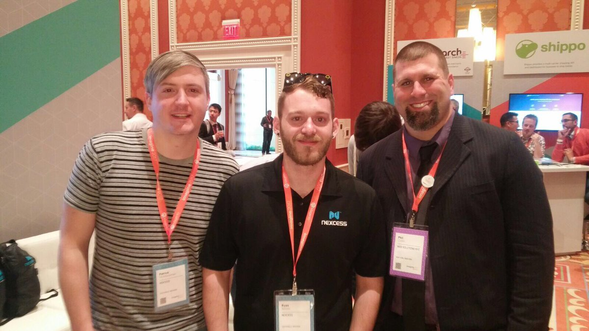nexcess: Great to catch up with these guys. Nexcess Support + @websolutionsnyc = a winning combination! #MagentoImagine https://t.co/hx8KgEOe90