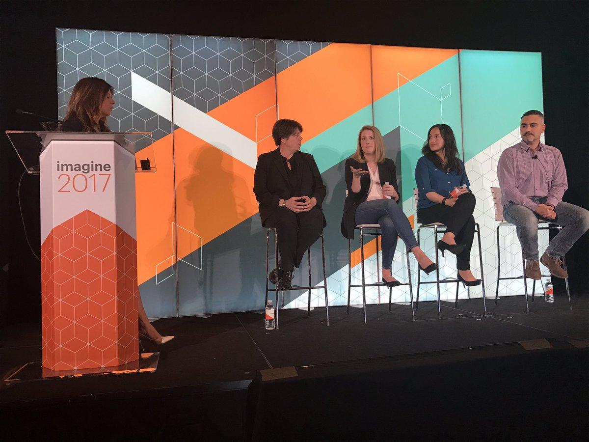 JesKing: Amazing panel on Diversity in Tech at #magentoimagine Thank you, @magento ! https://t.co/Tz2u1jsymM
