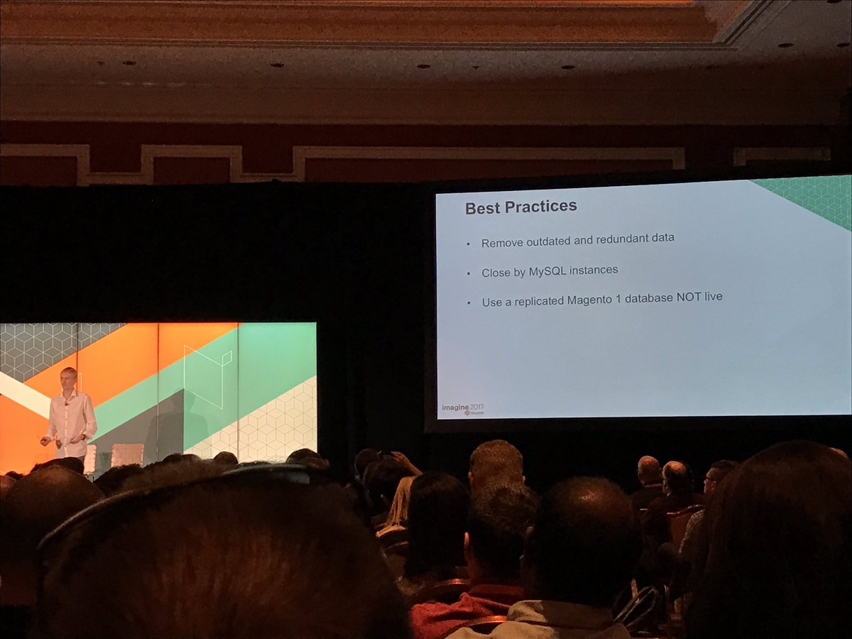 wearejh: Data migration best practices for migrating from Magento 1 and Magento 2. #MagentoImagine https://t.co/aMLs3pKW19