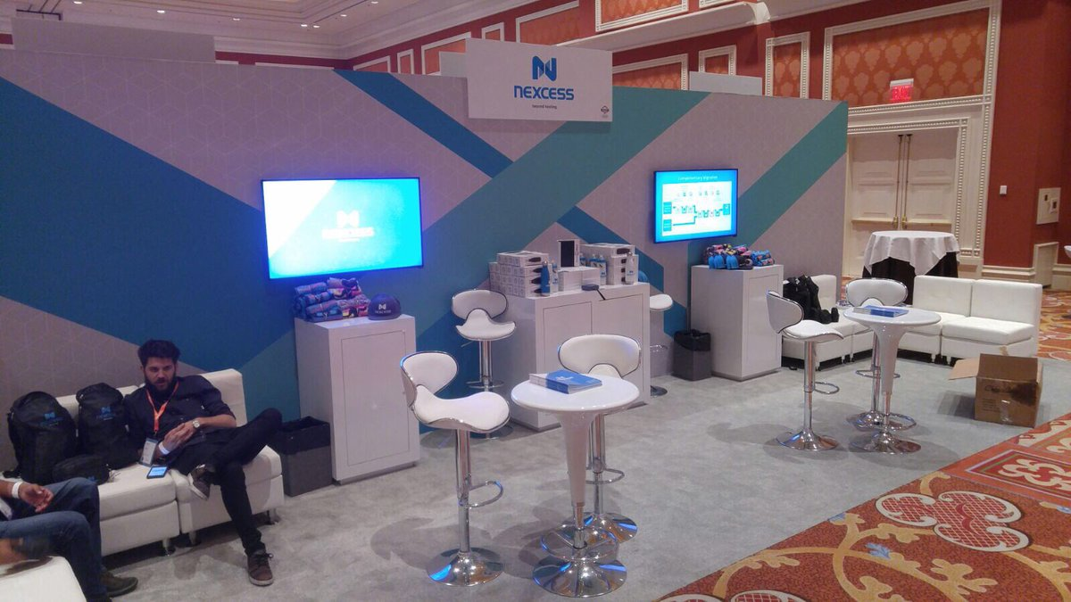 nexcess: We're ready to go at #Magentoimagine. Stop by booth #412 to talk cloud with the Nexcess team. And we got t-shirts 😍 https://t.co/VtBtDqTT7h