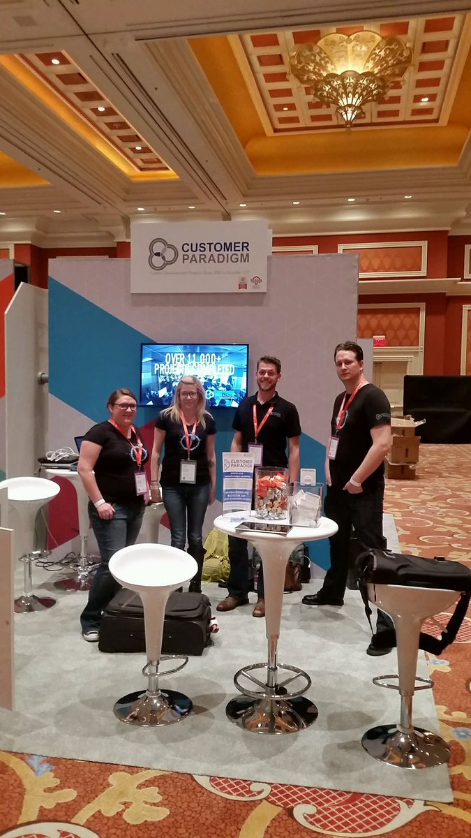 custparadigm: We getting excited for the marketplace to open here at #MagentoImagine 2017! The teams all here, come chat with us! https://t.co/WdNM6ipgJn