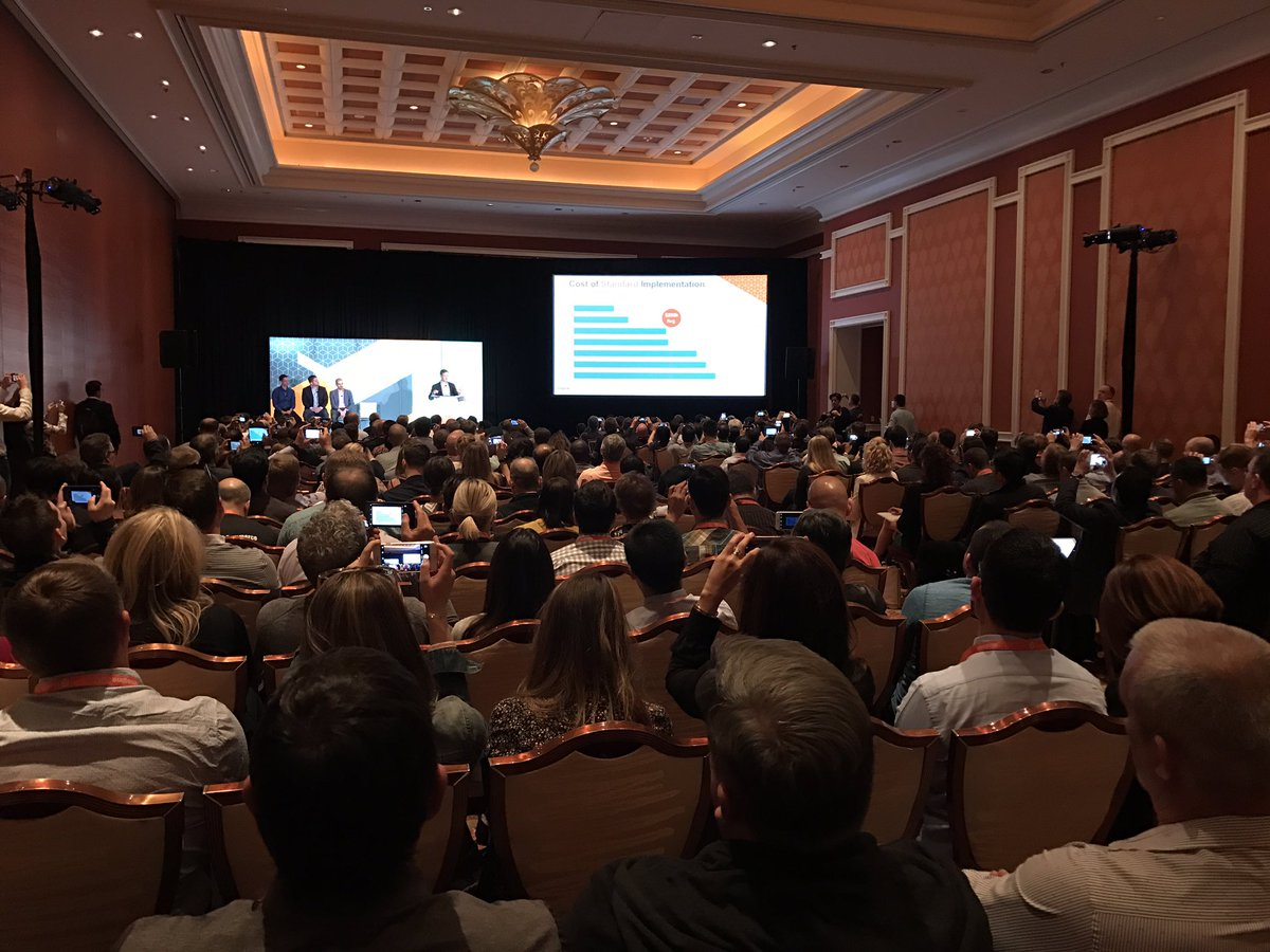 iminyaylo: How many people are interested in migration to #magento2 at #MagentoImagine it's awesome! https://t.co/yzSjJN2eW2