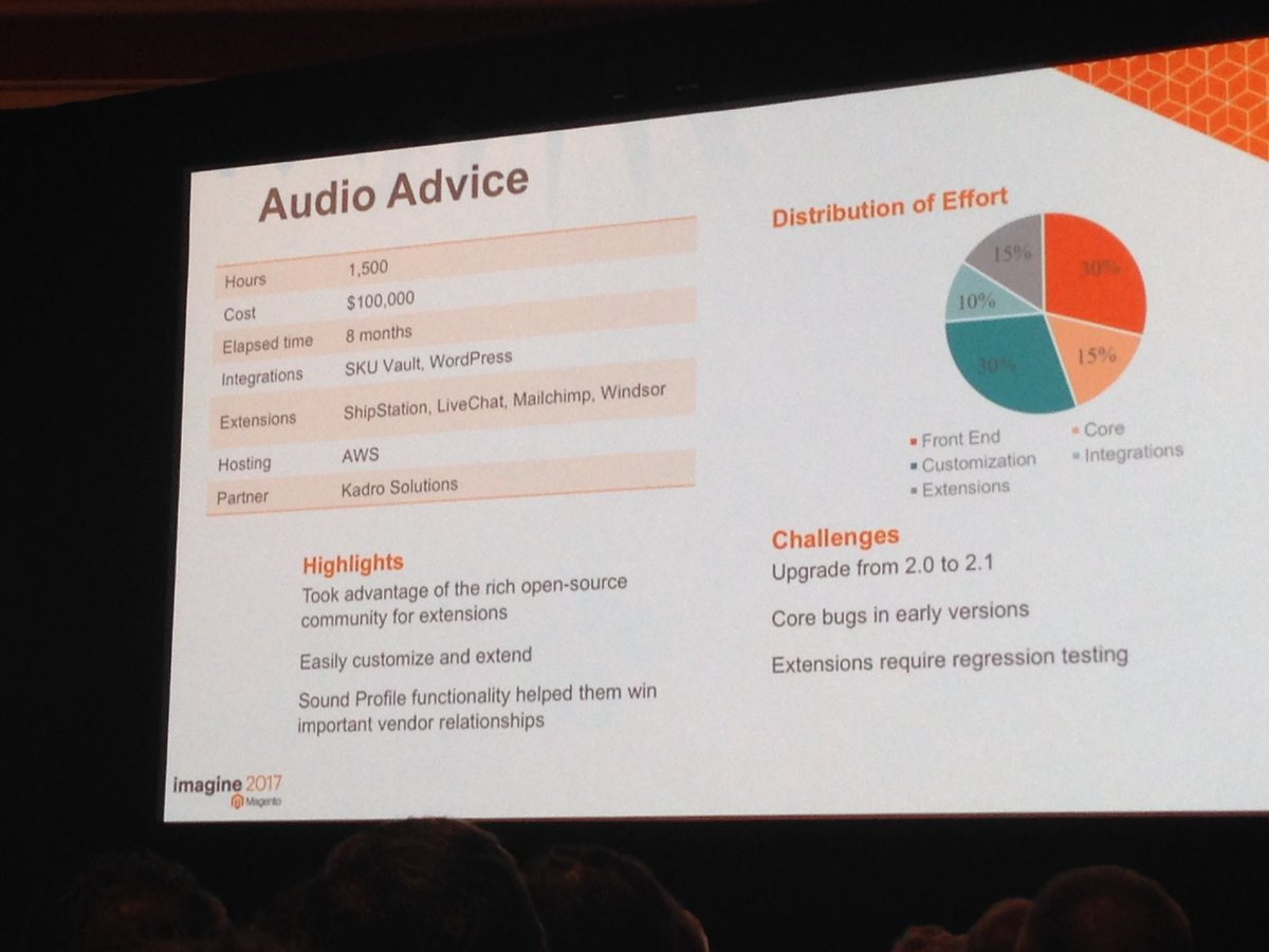 SheroDesigns: Case study for @AudioAdvice New to #magento2 #magentoimagine https://t.co/x56jb2hcFX