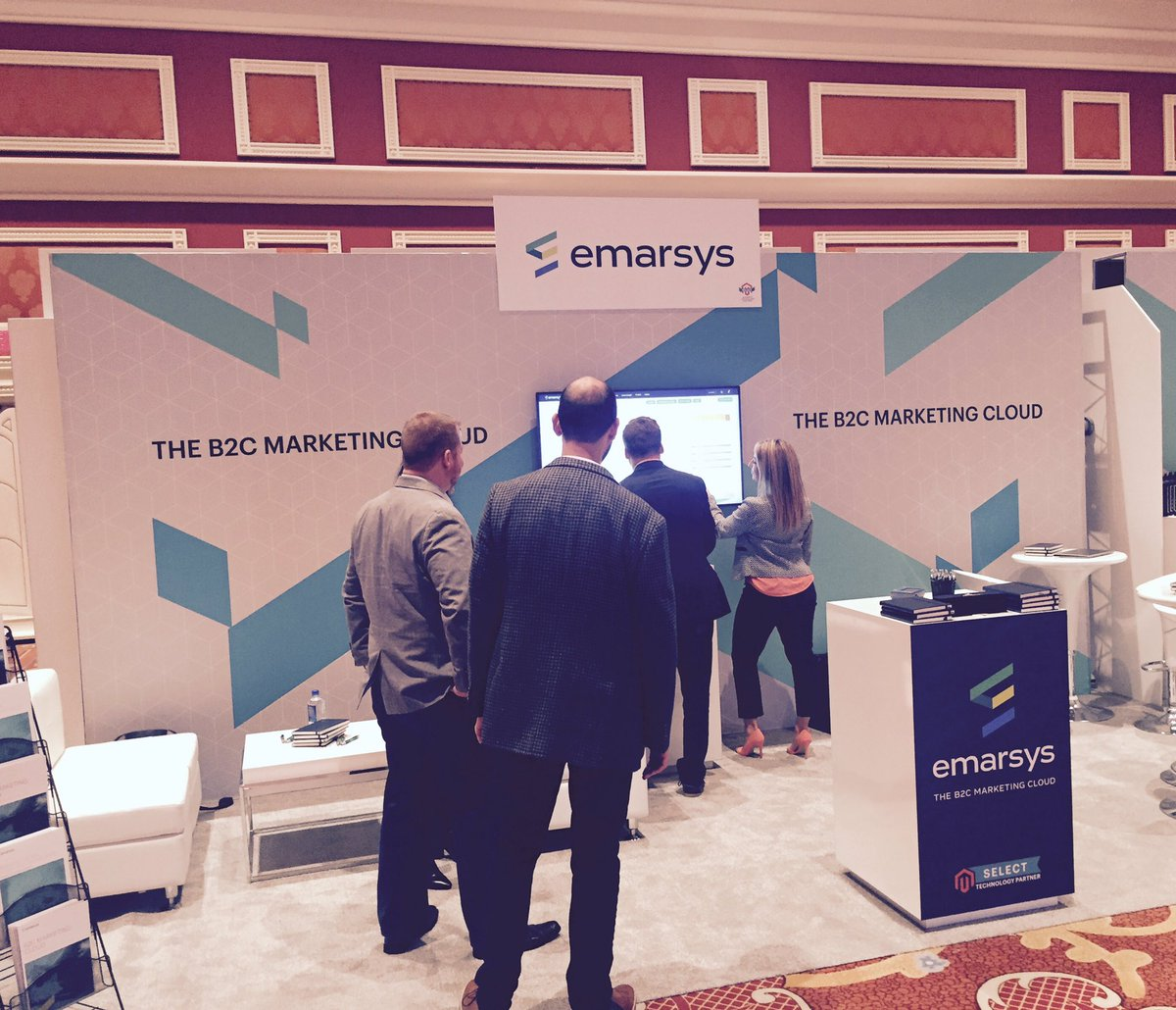 dakotalbrock: Come see @Emarsys at #Magentoimagine booth #221 #empoweringmarketers https://t.co/UrbzSD4FQt