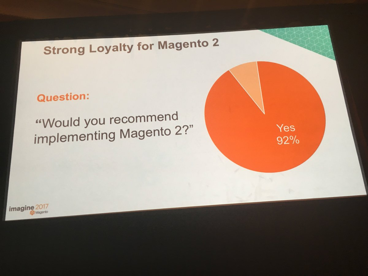 gsautereau: In other words, it's time to go Magento 2, with @GroupeSmile of course 😀 #MagentoImagine https://t.co/vZ6v3GTGv4