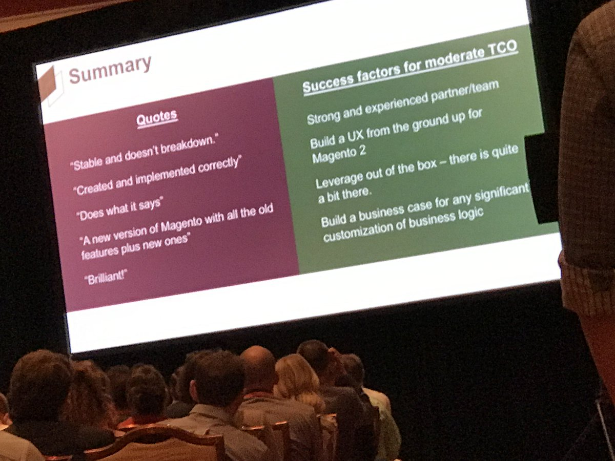 wearejh: Summary of Magento 2 implementation costs feedback #Magentoimagine https://t.co/pgXuAG6q4t