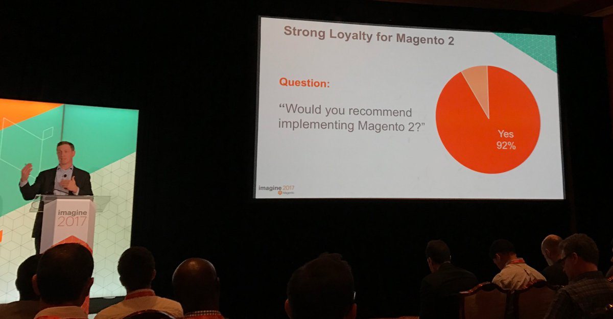 fredrikahlen: What could possibly go wrong!? ;) @magento #Magentoimagine https://t.co/mEz3BHNFlK