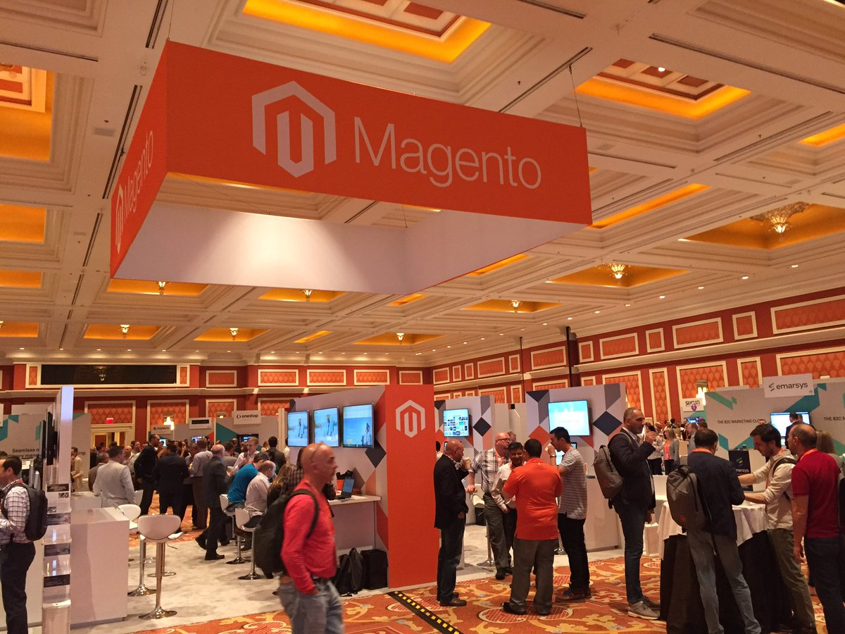 magento_rich: Marketplace is open. Come on down! #Magentoimagine https://t.co/Son0yKuE6N