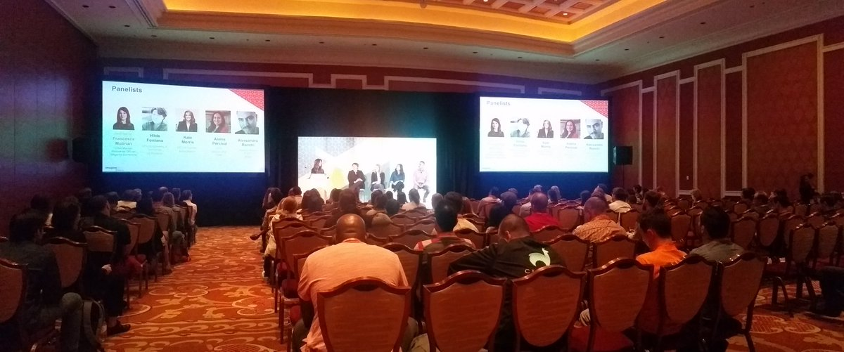 mzeis: Great to hear Magento is supporting diversity actively. #MagentoImagine https://t.co/aBq3AxlTRp