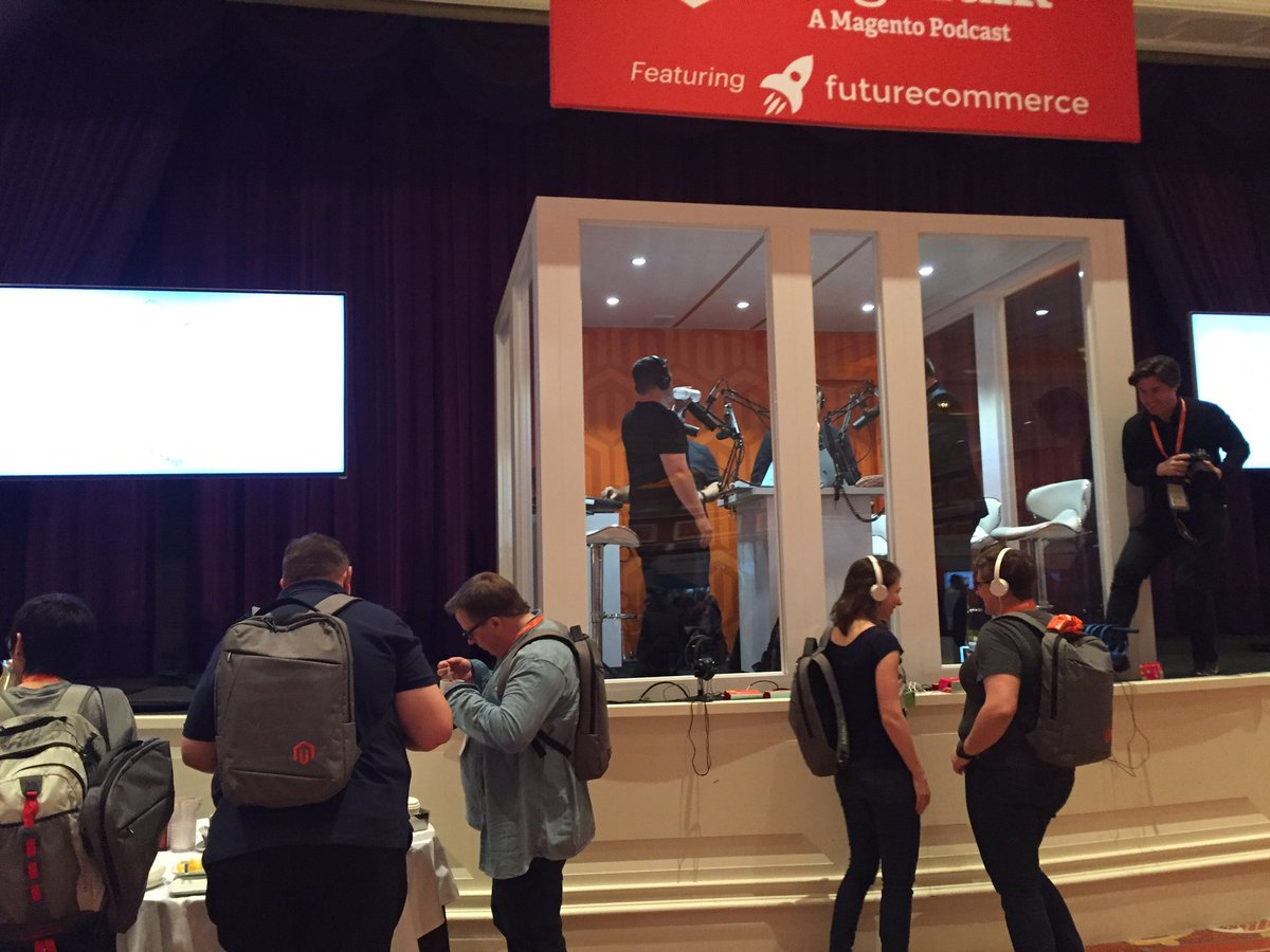 vrann: @MageTalk realtime experience at #Magentoimagine https://t.co/CX8DEWiWzF