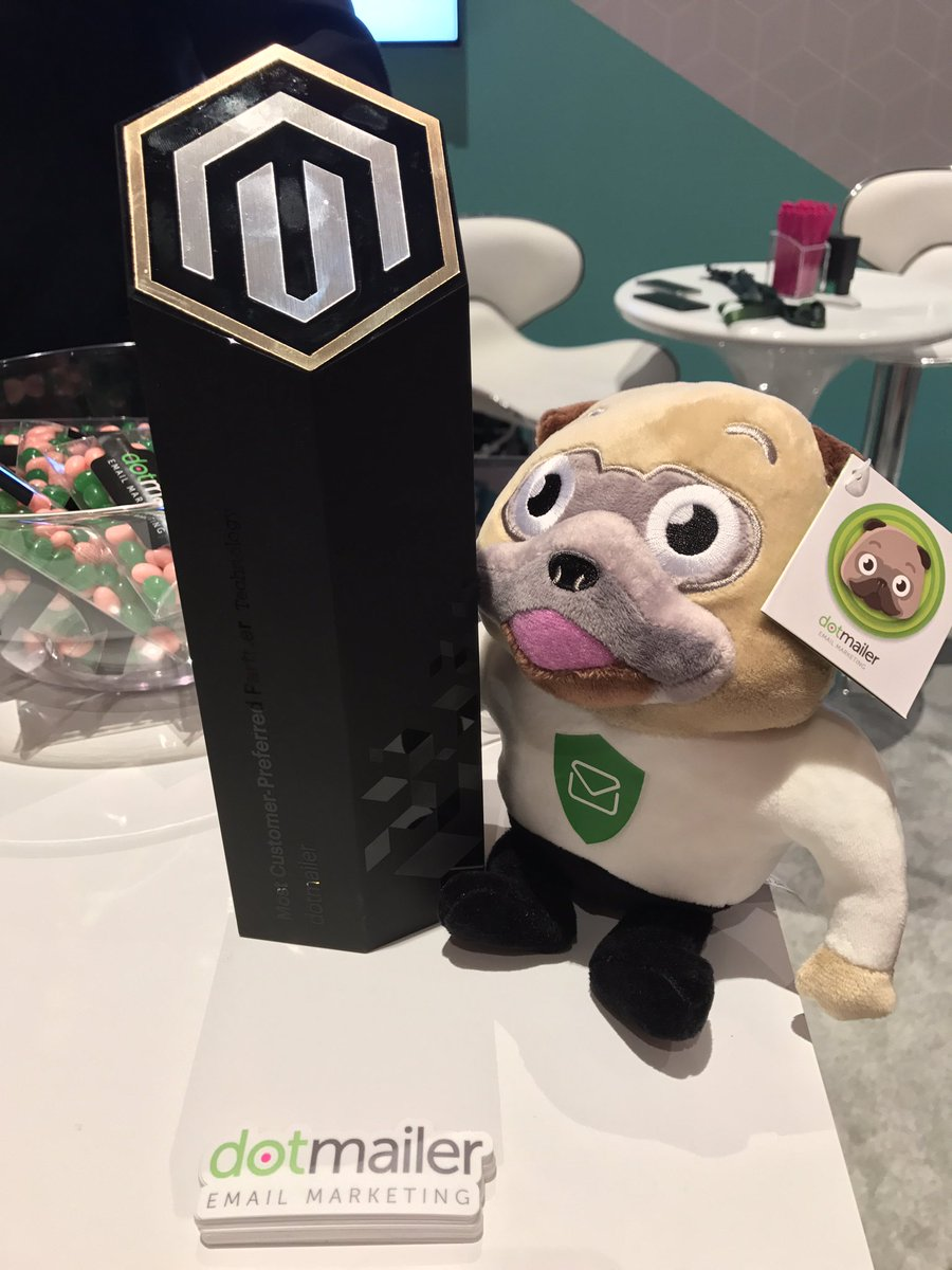 dotmailer: #MagentoImagine Marketplace is now in session! Come say hi to us and Winston #dotwatchdog https://t.co/H7YOGc9aPx