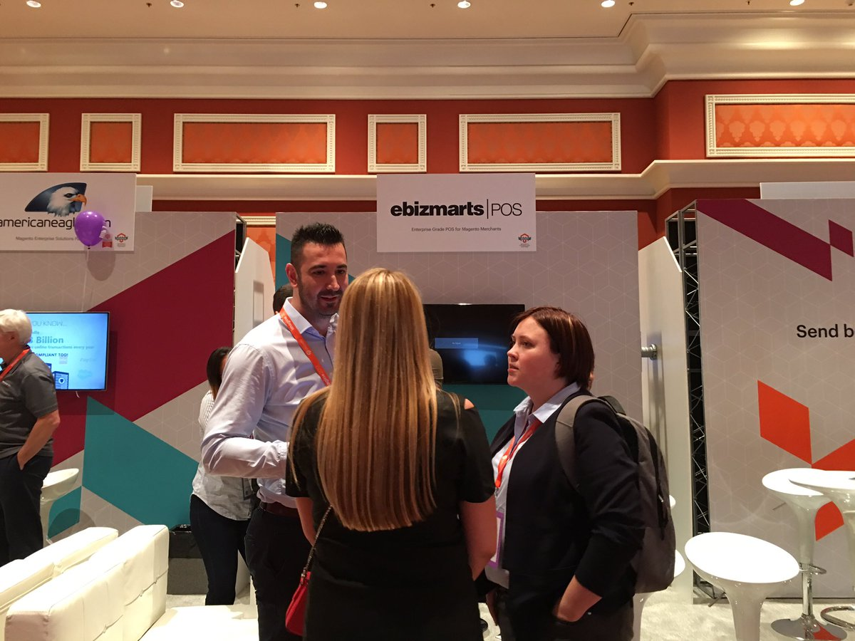ebizmarts: Let's talk unified commerce powered by @magento & @ebizmarts POS at booth #424 #MagentoImagine https://t.co/auxEQZxpAq