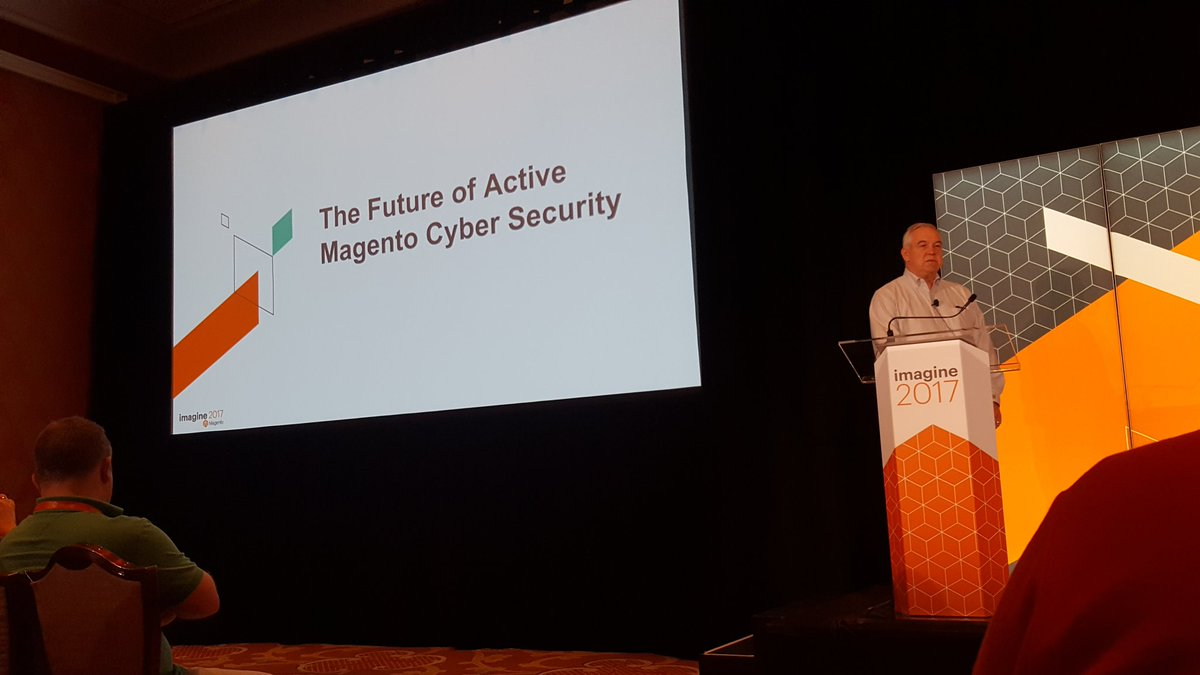 mgeoffray: Talking about #magento security with John Steer #Magentoimagine #realmagento https://t.co/c1J79nobkq