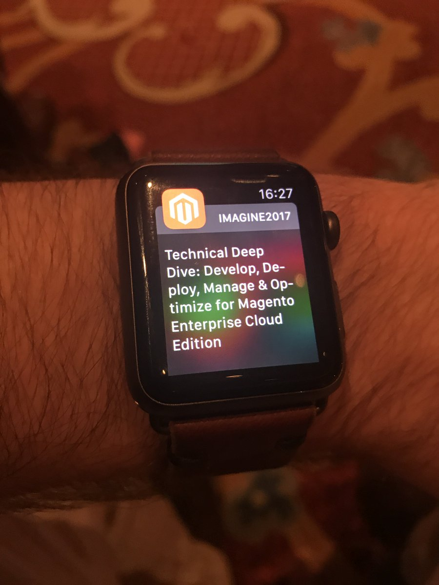 JohnHughes1984: Loving the #MagentoImagine App, keeping me organised and on time to all the talks https://t.co/nBy01zsFj8