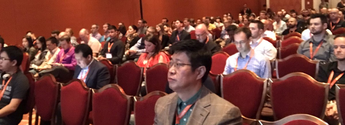 _Talesh: Full room for #MagentoImagine new auditing tool talk! #thingsThatMakeTaleshHappy https://t.co/Rd6yCmOotu