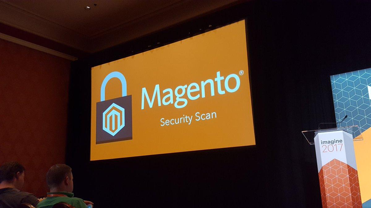 D_n_D: [Magento Imagine] Annonce du nouveau Magento Security Scan, entièrement gratuit #Magentoimagine https://t.co/92yf8NWAnS