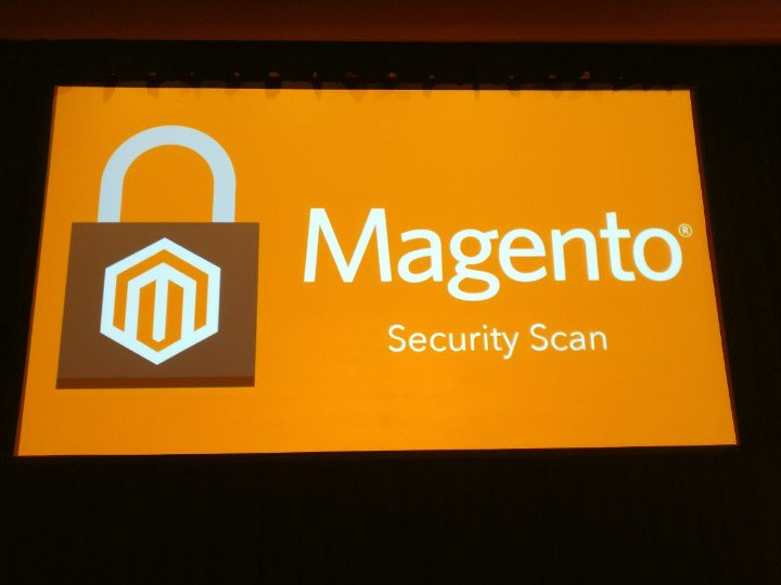 netz98: Magento released a new product: Magento Security Scan. 100% free; Currently beta. #MagentoImagine https://t.co/ewuWS8f23L