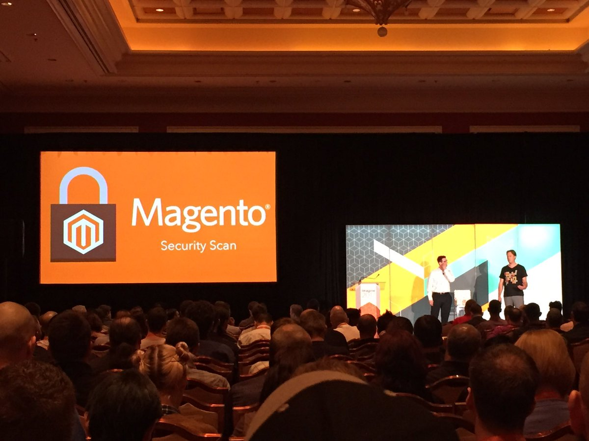 magento_rich: New @magento Security Scan. #Magentoimagine https://t.co/MxQn6qG98k