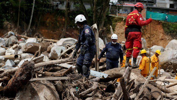 Desperate hunt for children in Colombia town where landslides killed more than 250