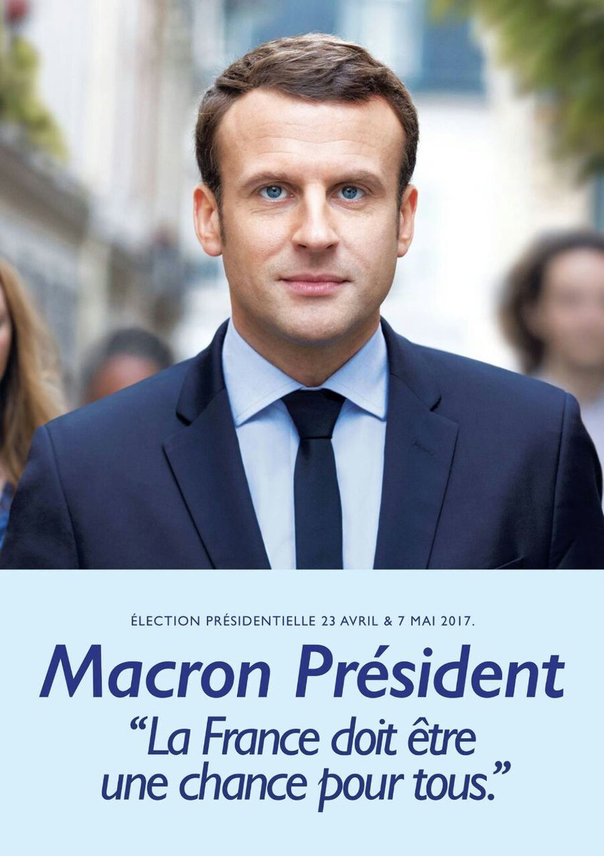L' affiche officielle d un homme qui veut changer la France  https://t.co/YGlCrz47nt