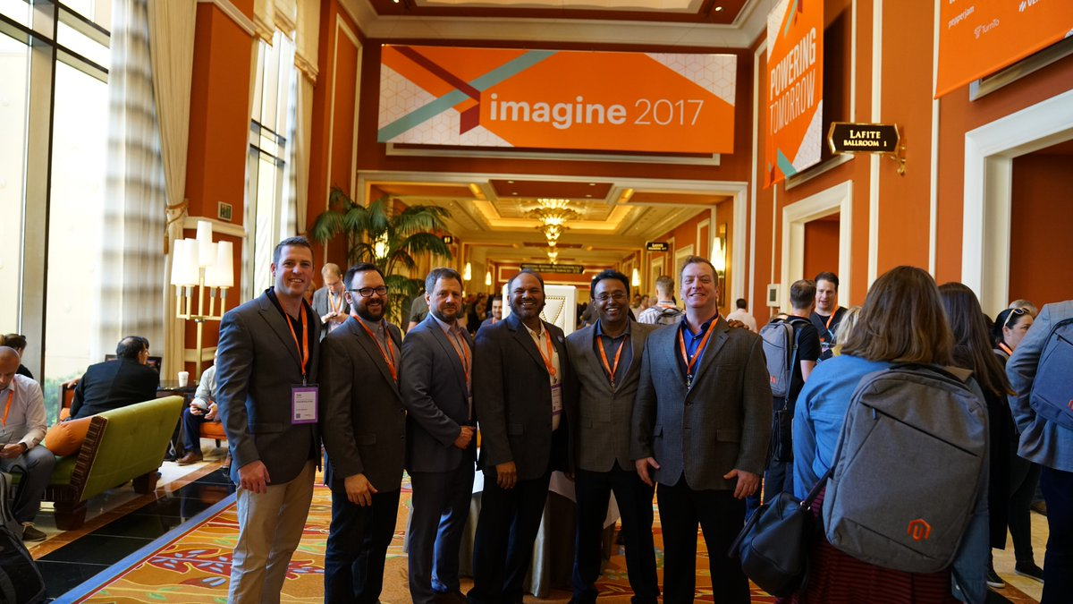 kensium: Keep an eye out at tonight's #MagentoImagine networking event. We may or may not be giving away drink tickets... https://t.co/lzTFF3SY1i
