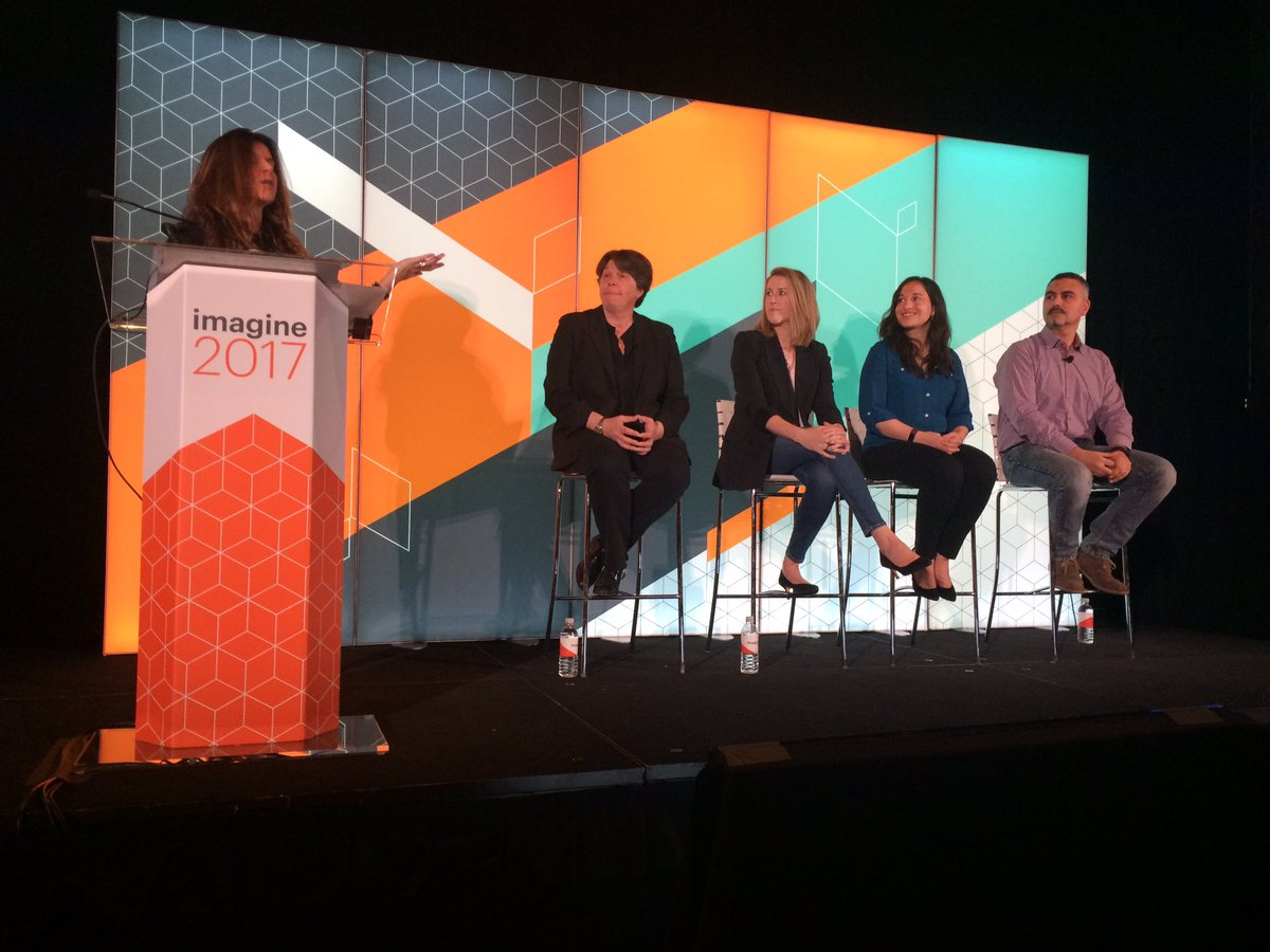 UXdanielle: 'Diversity is the key ingredient of evolution' @aleron75  Great closer to the #Magentoimagine diversity event https://t.co/GFYLOkcsw1