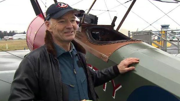 Biplane replicas ready to fly over Sunday's Vimy commemoration in France