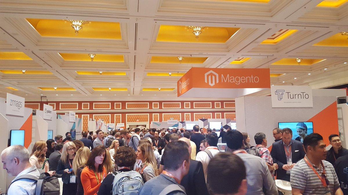 elatlboy: Very good Day #1 of #MagentoImagine, outstanding. @WynnLasVegas great venue. 👍 #Vegas https://t.co/y0Zq9rrdog
