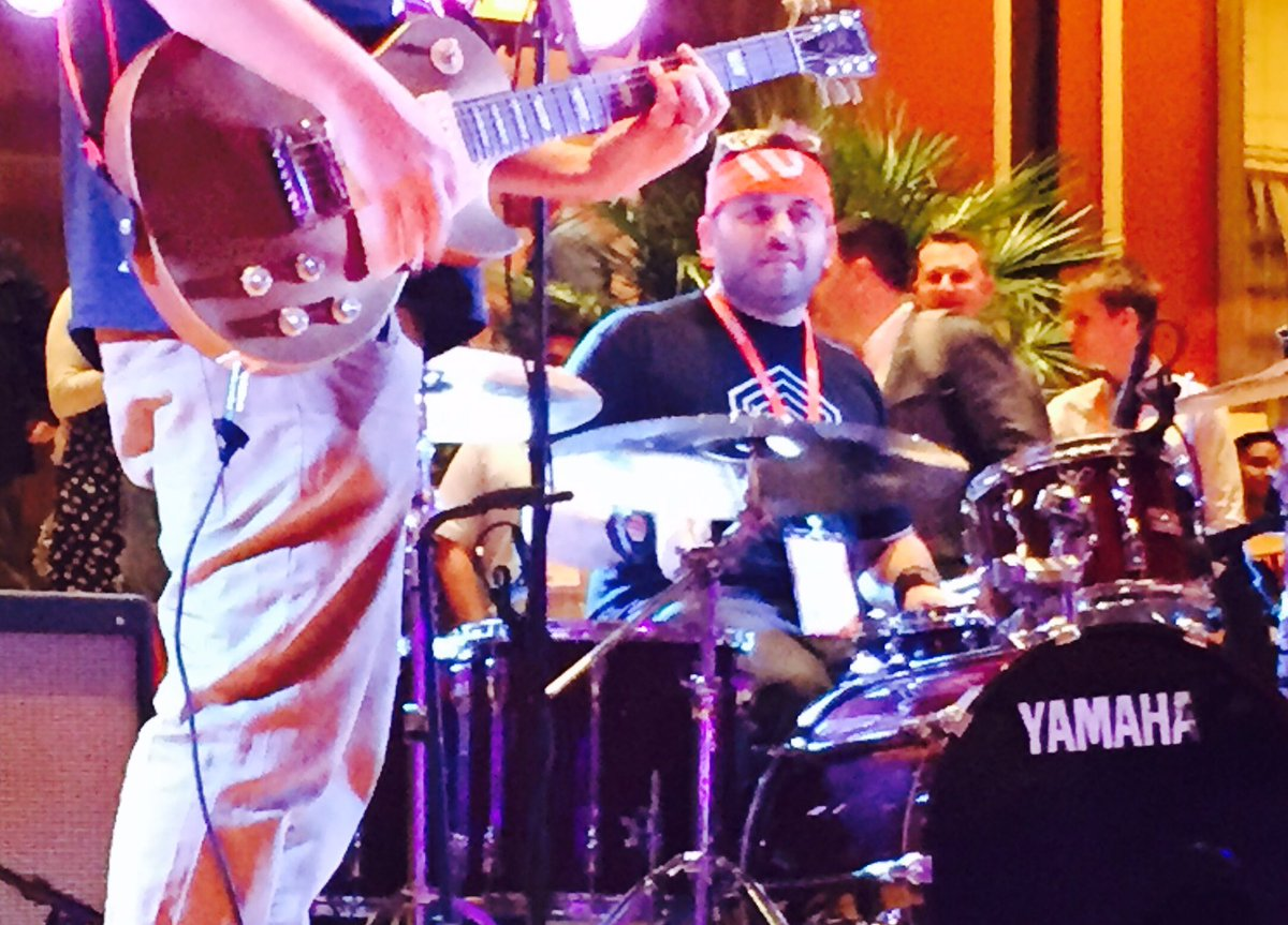 WebShopApps: That guy on the drums; his gonna be famous one day #Magentoimagine #realmagento https://t.co/IIM9AYfAPy