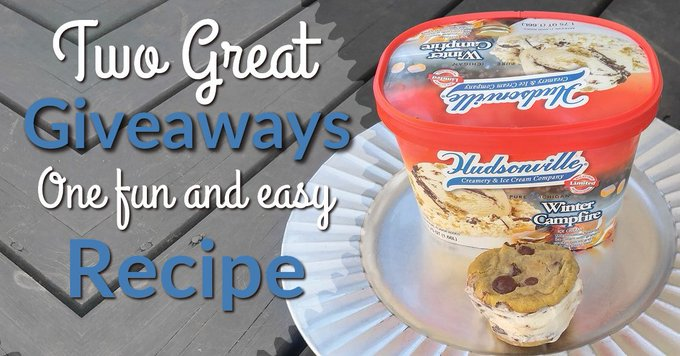Hudsonville Releases New Winter Campfire Ice Cream (Two Giveaways )