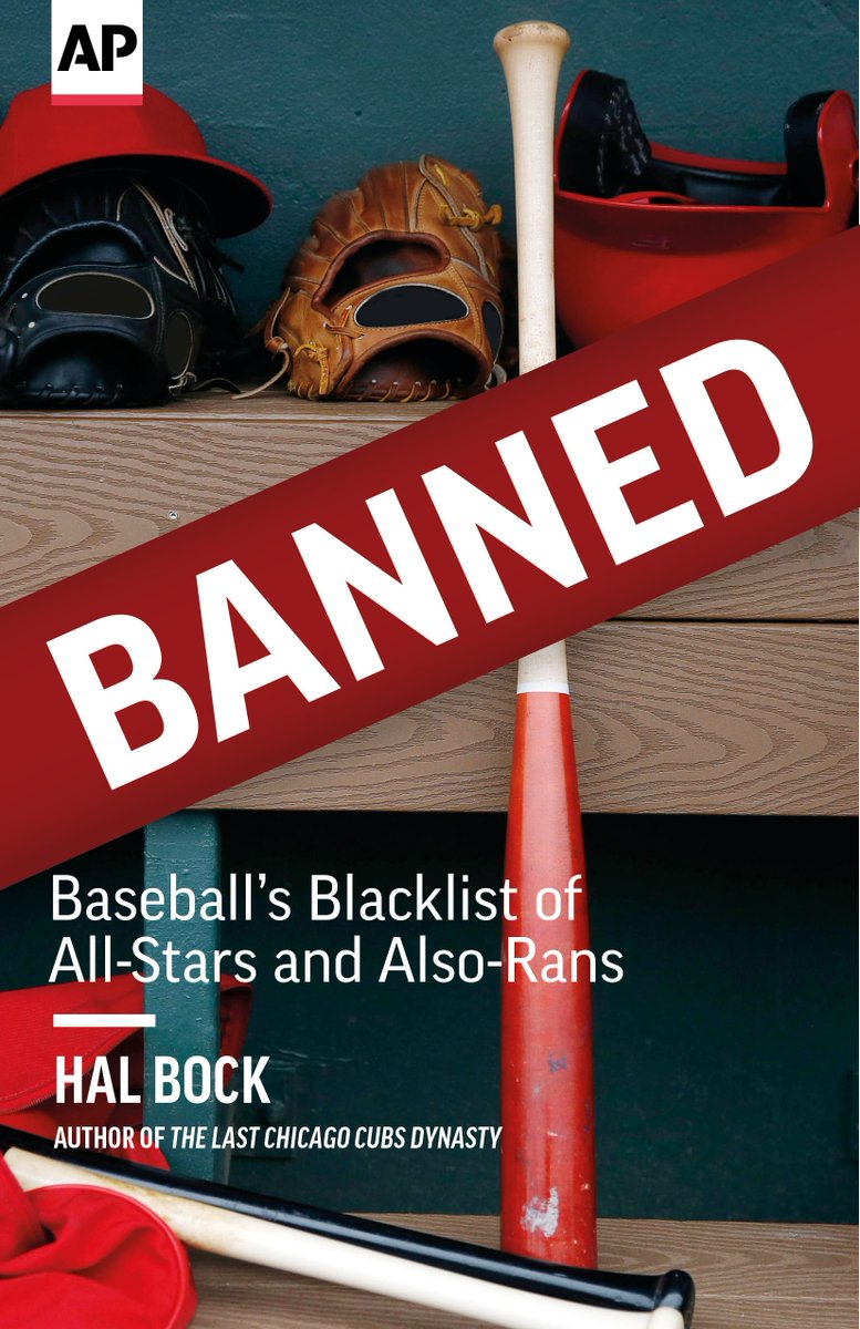 "Ad: New @AP book ""Banned"" is a look at baseball's blacklisted players"