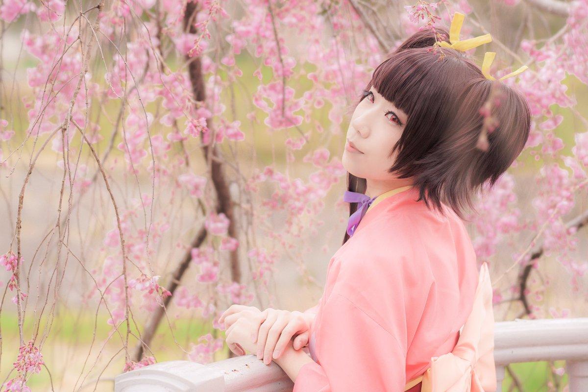 甲鉄城のカバネリ/無名撮影ありがとうございました!桜可愛い☺️💕💕p. #ビビコス #無名