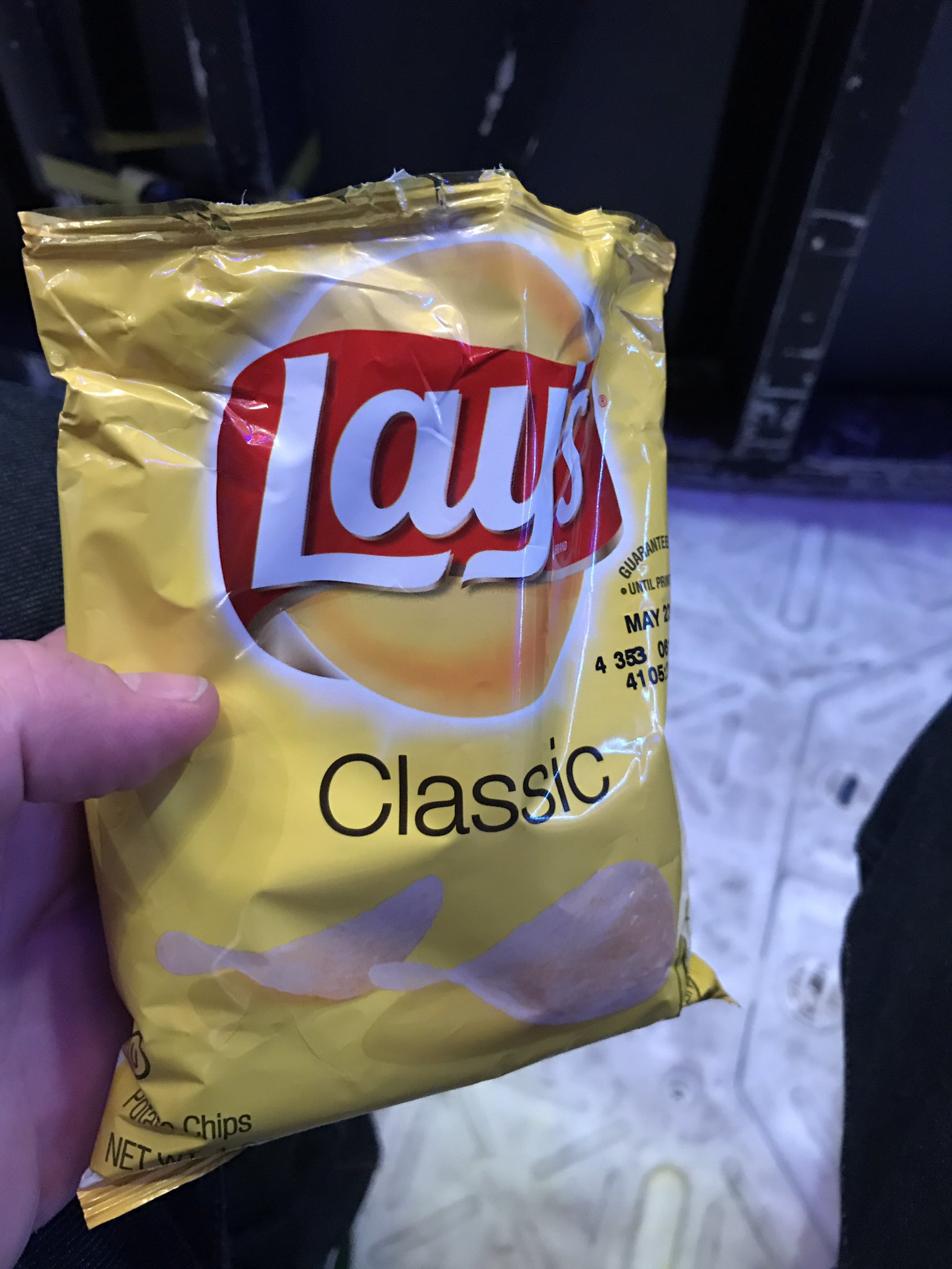 @IISuperwomanII thanks for the @LAYS. #FallonRide #FallonOrlando https://t.co/6wYB51fmQh