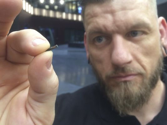 Chip implants all in a day's work at Swedish company