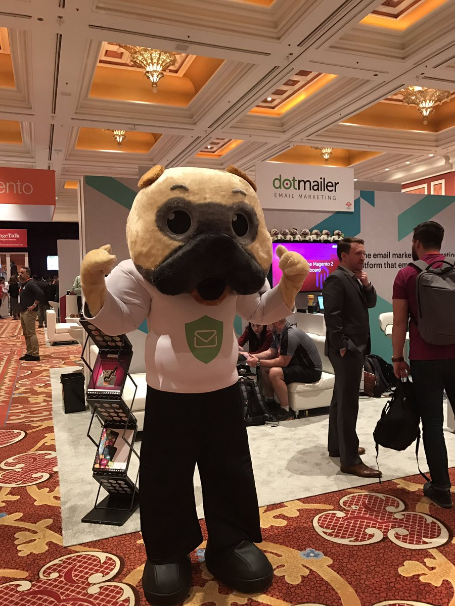 dotmailer: Come say hi to Winston #dotwatchdog at the Marketplace #MagentoImagine https://t.co/MNlf6Ee8Yd
