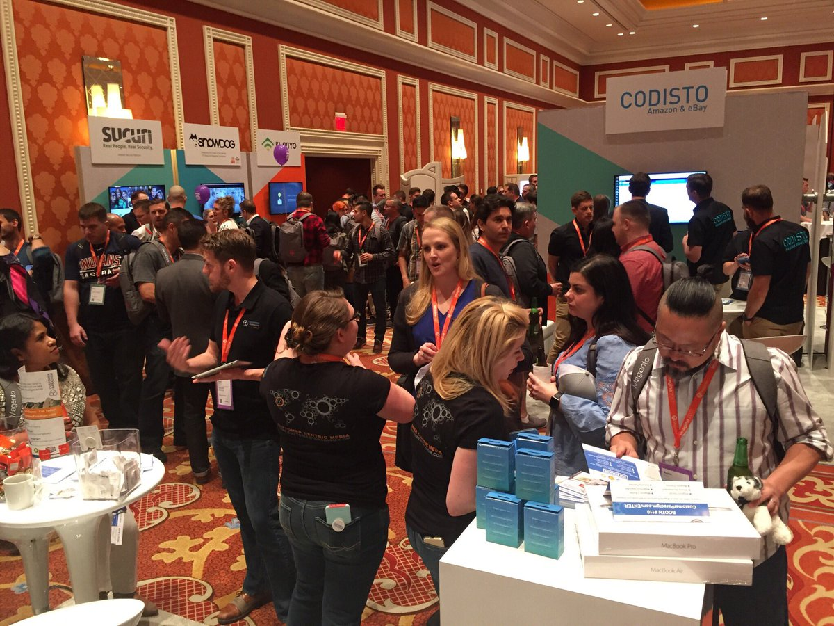 custparadigm: Day two of #MagentoImagine 2017 is underway! The CP team is in booth 110! Come chat with us all day today! https://t.co/d8mfr6y6zO