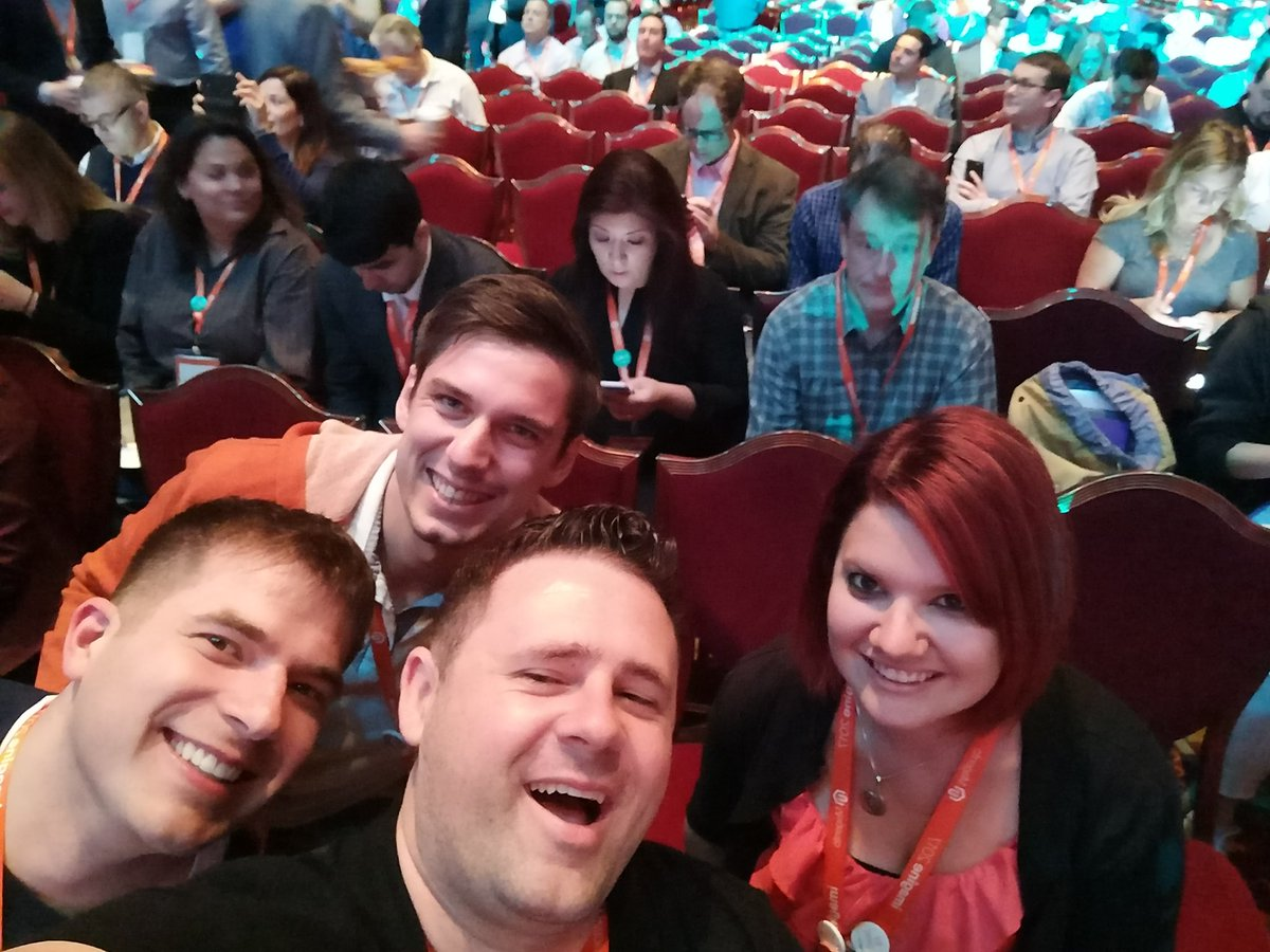 sherrierohde: Ready for the general session! #MagentoImagine https://t.co/VywdRWK7lf