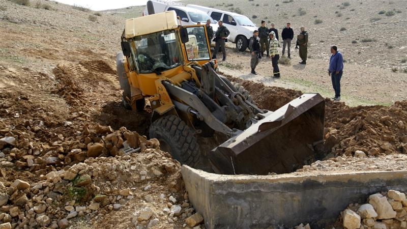 European Union critcises Israel's West Bank demolitions policy
